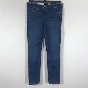 Anthro Pilcro & the Letterpress Serif skinny jeans